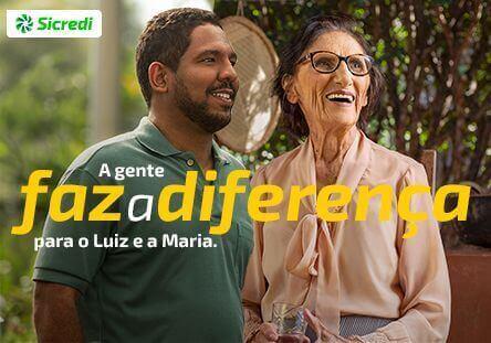 O cooperativismo mudou a vida da Maria e do Luiz.